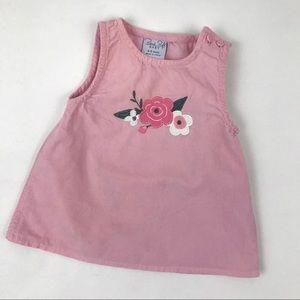 Baby Girl Floral Embroidered Dress